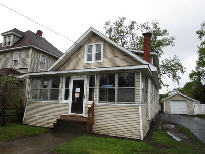 Schenectady Single Family Home New: 734 Draper Av