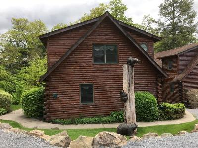 Single Family Home For Sale: 3210 Lake Shore Dr #Lodge 7