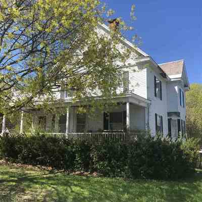 Ticonderoga Single Family Home For Sale: 89 Champlain Av
