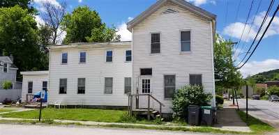 Rensselaer County Multi Family Home For Sale: 14 1st St