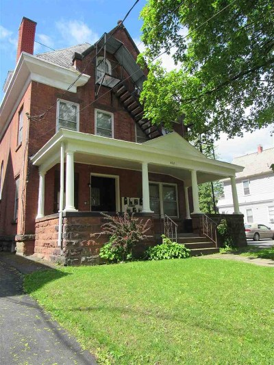 Schenectady Multi Family Home For Sale: 838 1/2 Union St