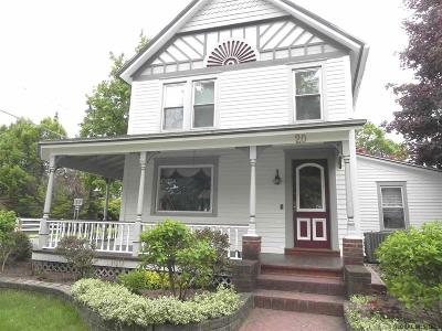Saratoga County Single Family Home For Sale: 20 Mitchell St