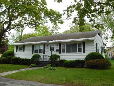Glens Falls Single Family Home Active-Under Contract: 8 Mountain View Rd