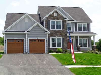 Saratoga County, Warren County Single Family Home For Sale: Lot 25 Richmond Hill Dr