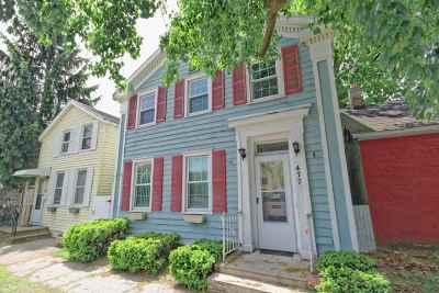 Troy Single Family Home For Sale: 477 3rd Av