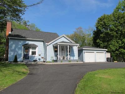Moreau Single Family Home Active-Under Contract: 121 Fort Edward Rd