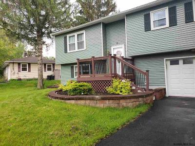 Mechanicville, Stillwater Single Family Home Active-Under Contract: 21 Dorchester Dr