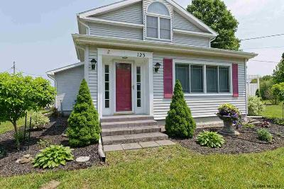 Mechanicville, Stillwater Single Family Home For Sale: 123 County Route 75