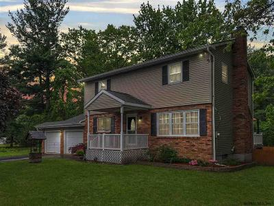 Clifton Park Single Family Home Active-Under Contract: 342 Moe Rd