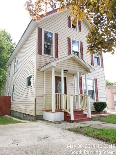 Hagaman Single Family Home For Sale: 134 S Pawling St