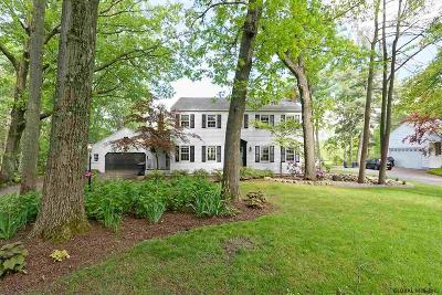 Niskayuna Single Family Home Price Change: 1386 Rosehill Blvd
