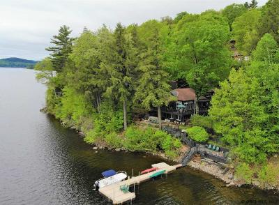 Schroon Single Family Home For Sale: 57 Bay Rd