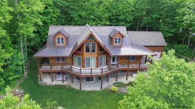 Lake George Single Family Home Price Change: 3831 New York State Route 9l
