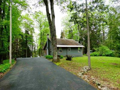 Hamilton County Single Family Home For Sale: 393 Adirondack Rd