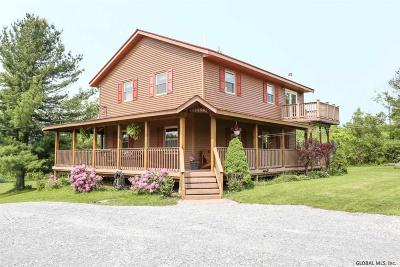 Duanesburg Single Family Home For Sale: 1481-B Eaton Corners Rd