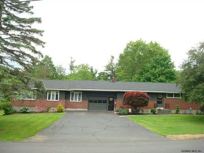 Albany County, Saratoga County, Schenectady County, Warren County, Washington County Single Family Home Active-Under Contract: 10 Deans Mill Rd