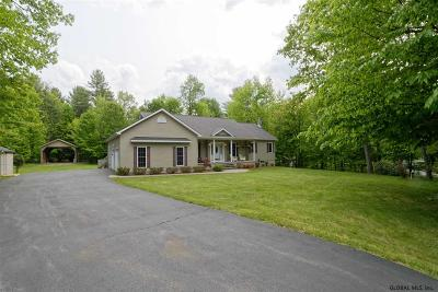 Albany County, Saratoga County, Schenectady County, Warren County, Washington County Single Family Home For Sale: 64 White Birch Dr