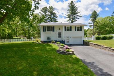 Ballston Spa, Round Lake Single Family Home For Sale: 41 Coachman Dr