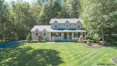 Clifton Park Single Family Home For Sale: 23 Orchard Park Dr