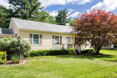 Moreau Single Family Home Active-Under Contract: 167 Reservoir Rd