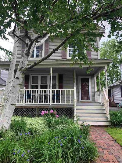 Scotia Single Family Home For Sale: 335 Glen Av
