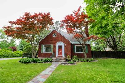 Schenectady Single Family Home Active-Under Contract: 1301 Waverly Pl