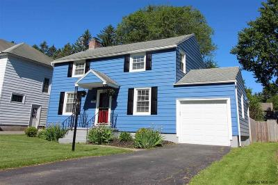 Niskayuna Single Family Home Price Change: 1165 S Country Club Dr