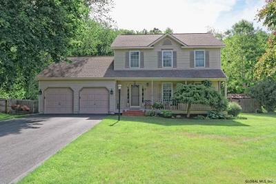 Clifton Park Single Family Home For Sale: 13 Wing Rd