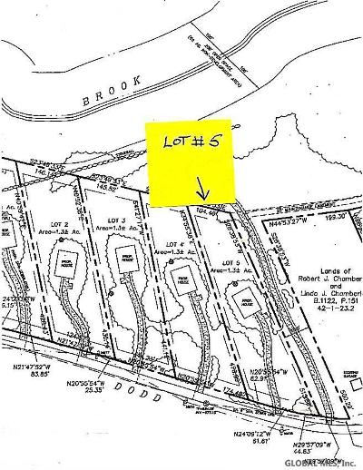 Hague Residential Lots & Land For Sale: 00 Lot # 5 Dodd Hill Rd