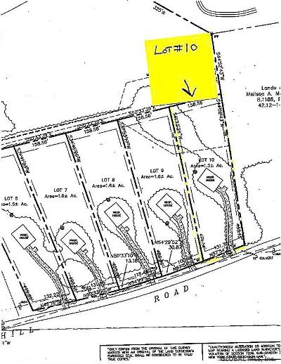 Hague Residential Lots & Land For Sale: 00 Lot # 10 Dodd Hill Rd