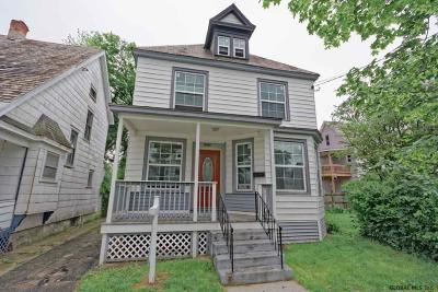 Schenectady Single Family Home For Sale: 1002 Stanley St
