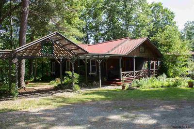 Albany County, Saratoga County, Schenectady County, Warren County, Washington County Single Family Home For Sale: 26 Roberson Rd