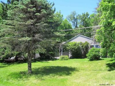 Mechanicville, Stillwater Single Family Home For Sale: 114 Brickyard Rd