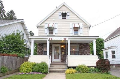 Schenectady Single Family Home For Sale: 867 Thompson St