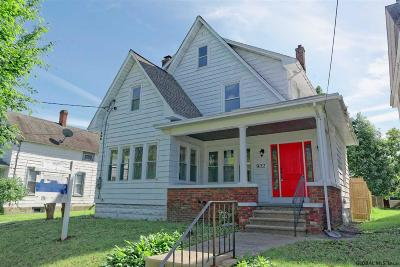 Schenectady Single Family Home Price Change: 922 Hegeman St