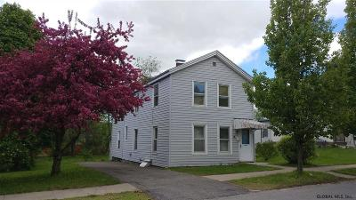 Gloversville Single Family Home For Sale: 44 W Eighth Av
