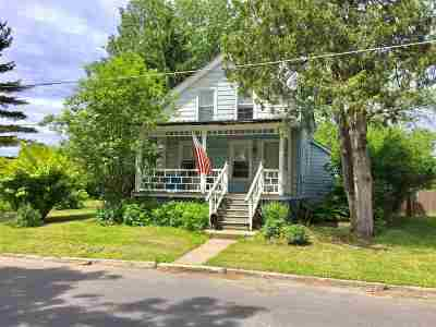 Glens Falls Single Family Home Active-Under Contract: 15 Morton St