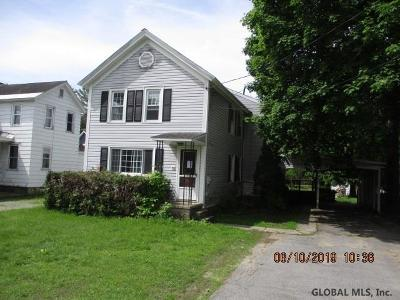 Greenfield, Corinth, Corinth Tov Single Family Home New: 743 County Rt 24