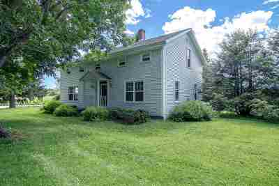 Saratoga County Single Family Home Back On Market: 1447 Division St