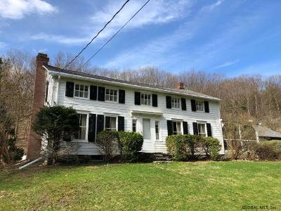 Rensselaer County Single Family Home For Sale: 279 Nichols Hill Rd