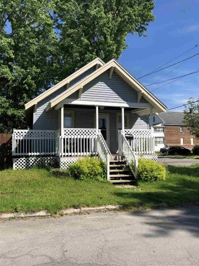 Amsterdam NY Single Family Home For Sale: $55,000