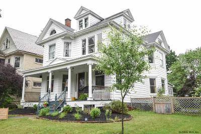 Schenectady Single Family Home For Sale: 1178 Parkwood Blvd