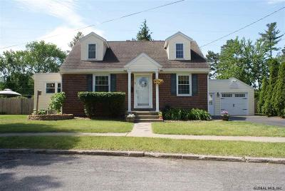 Albany County, Columbia County, Greene County, Fulton County, Montgomery County, Rensselaer County, Saratoga County, Schenectady County, Schoharie County, Warren County, Washington County Single Family Home New: 7 Eisenhower Ct