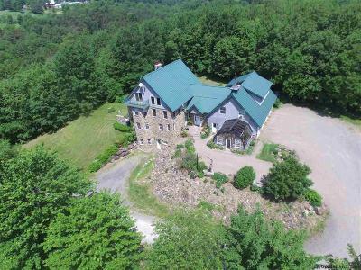 Saratoga County Single Family Home For Sale: 1312 Sacandaga Rd