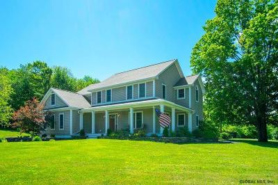 Albany County, Saratoga County, Schenectady County, Warren County, Washington County Single Family Home New: 120 Bromley La