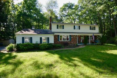 Clifton Park Single Family Home For Sale: 22 Woodstead Rd