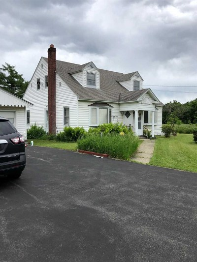 Saratoga County Single Family Home For Sale: 2629 Route 9