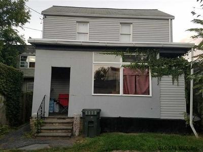 Cohoes Single Family Home For Sale: 93 Ontario St