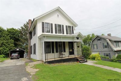 Canajoharie Single Family Home For Sale: 124 Otsego St