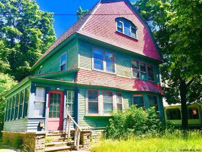 Glens Falls Single Family Home For Sale: 10 Dix Av